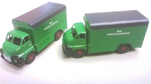 Arch Laser A3D0038 Bedford S Type BRS Parcels Service  Delivery Van (Painted) (1)